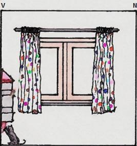 Vedere a peretelui cu fereastra