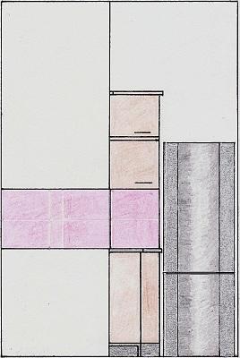 Vedere perete cu frigider