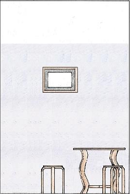 Vedere perete cu oglindă