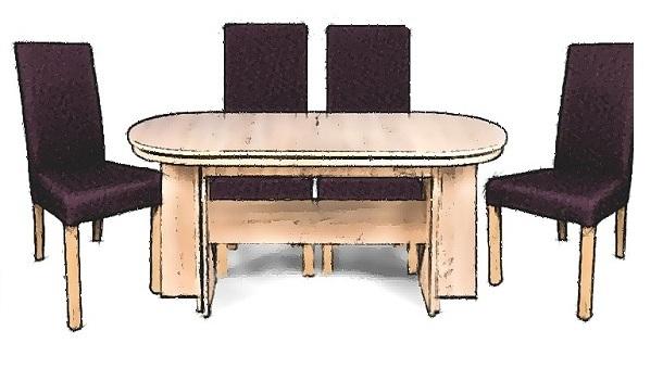 masa-ovala-cu-scaune-elvila